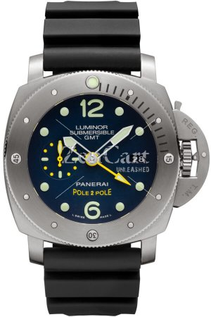 Panerai Luminor Submersible 1950 3 Days GMT Automatic Titanio 47mm PAM00719 Watch Replica