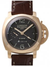 Panerai Luminor 1950 8 Days GMT 44mm Mens watch PAM00289
