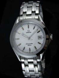 Omega Seamaster Classic Stainless Steel White Dial Watch