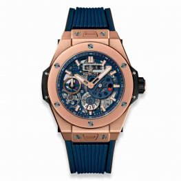 Hublot Big Bang MECA-10 King Gold Blue 45mm 414.OI.5123.RX Replica Watch