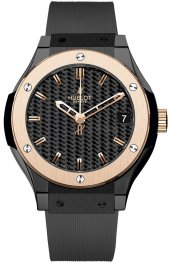 Hublot Classic Fusion Ceramic King Gold 581.CO.1780.RX Watch Replica