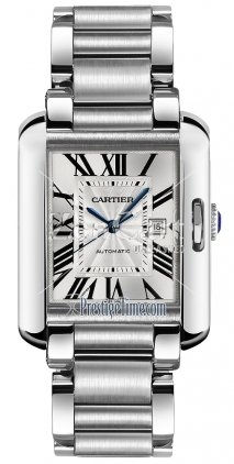 Cartier Tank Anglaise Medium Ladies Watch W5310009