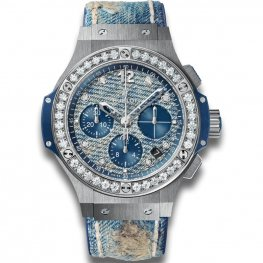 Hublot Big Bang Jeans Steel Diamonds 341.SL.2770.NR.1204.JEANS Watch Replica