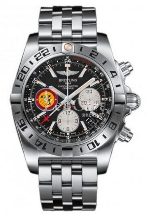 Breitling Chronomat 44 GMT 50th Anniversary Patrouille Suisse Stainless Steel AB04203J/BD29/377A Replica Watch