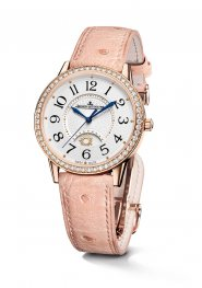 Jaeger-LeCoultre 3612420 Rendez-Vous Night & Day Large Pink Gold/Diamond/Silver Replica