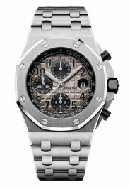 Audemars Piguet Royal Oak Offshore Chronograph Platinum 26470PT.OO.1000PT.01 Replica Watch