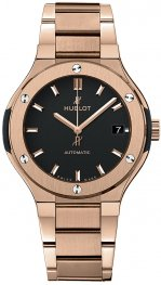 Hublot Classic Fusion King Gold Bracelet 568.OX.1180.OX Watch Replica