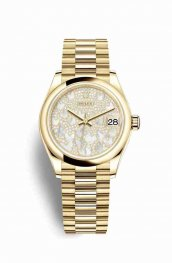 Rolex Datejust 31 278248 Paved mother-of-pearl butterfly Dial Watch Replica