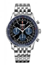 Breitling Navitimer 01 Limited Blue Edition Stainless Steel Mens AB012116/BE09 Replica Watch