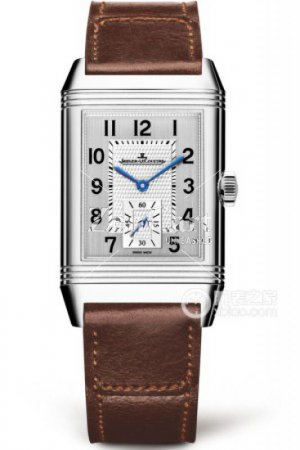 Jaeger-LeCoultre 3858522 Reverso Classic Large Small Seconds Stainless Steel/Silver/Fagliano Replica