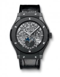 Hublot Classic Fusion Aerofusion Moonphase Black Magic 517.CX.0170.LR Watch Replica