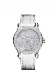 Chopard Happy Snowflakes 18K White Gold And Diamonds Limited Edition 274891-1014 Replica Watch
