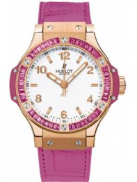 Hublot Big Bang Quartz Gold Tutti Frutti 38mm 361.pp.201