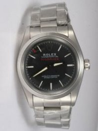 Rolex Sports Models Milgauss SS Black Dial Shape