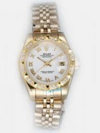 Rolex DATEJUST White Dial With Roman Hour Marker
