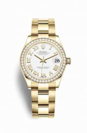 Rolex Datejust 31 278288RBR White Dial Watch Replica