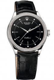 Rolex Cellini Time 18ct White Gold 50609 RBR replica