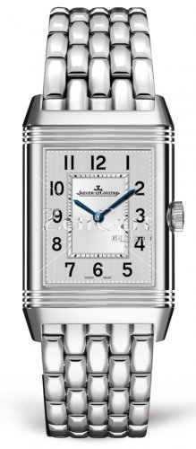 Jaeger-LeCoultre 2588120 Reverso Classic Medium Duetto Stainless Steel/Silver/Bracelet Replica