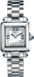 Chopard Happy Sport Classic Square 7 Floating Diamonds Ladies Wa