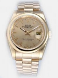 Rolex DATEJUST Ficelle Dial With Bar Hour Marker