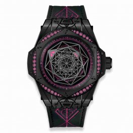 Hublot Big Bang One Click Sang Bleu All Black Pink 465.CS.1119.VR.1233.MXM18 39mm Replica