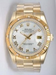 Rolex DATEJUST Silver Dial With Roman Hour Marke