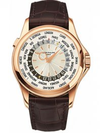 Patek Philippe Watch Complications World Time 5130r-001