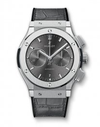 Hublot Classic Fusion Racing Grey Chronograph Titanium 521.NX.7071.LR Watch Replica