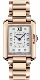 Cartier Tank Anglaise Medium Ladies Watch WJTA0005