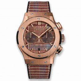Hublot Classic Fusion Chronograph Italia Independent Prince-De-Galles King Gold 521.OX.2709.NR.ITI18 45mm Replica