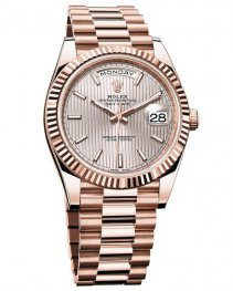 Rolex Oyster Perpetual Day Date 40 228235 Pink Gold repl