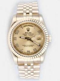 Rolex Day Date Sandy Beige Dial With Arabic Hour