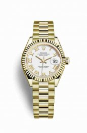 Rolex Datejust 28 279178 White Dial Watch Replica