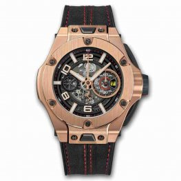 Hublot Big Bang Ferrari Chronograph Unico King Gold 45mm 402.OX.0138.WR Replica Watch