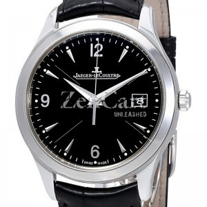 Jaeger LeCoultre Master Control Black Dial Automatic Mens Watch Replica