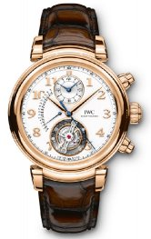 IWC Da Vinci Tourbillon Retrograde Chronograph IW393101 Replica
