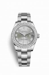 Rolex Datejust 31 White gold 178384 Rhodium Dial Watch Replica