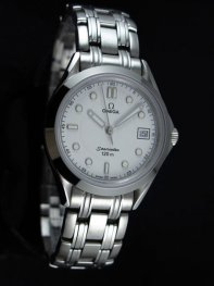 Omega Seamaster Stainless Steel White Dial Watches D0711