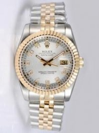 Rolex DATEJUST Salmon0 Dial With Arabic Hour Mar