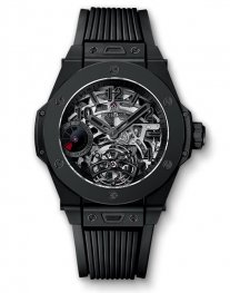 Hublot Big Bang Tourbillon Power Reserve 5 days All Black 405.CI.0110.RX Watch Replica