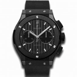 Hublot Black Magic 45mm Classic Fusion Ceramic Chronograph 521.CM.1771.RX Replica