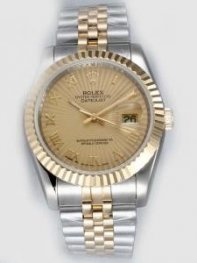 Rolex DATEJUST Brown Dial With Roman Hour Marker