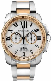 Cartier Calibre De Cartier Chronograph Mens Watch W71000
