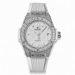 Hublot Big Bang One Click Steel White Jewellery 465.SE.2010.RW.0904 39mm Replica