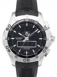 Tag Heuer Aquaracer Chronotimer CAF1010.FT8011 watch