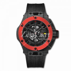 Hublot Big Bang Ferrari Chronograph Unico Carbon Red Ceramic 402.QF.0110.WR 45mm Replica Watch