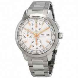IWC Ingenieur Chronograph Automatic Silver Dial Mens IW380801 Replica