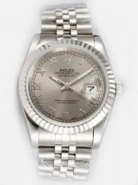 Rolex DATEJUST Greyish Dial With Roman Hour Mark