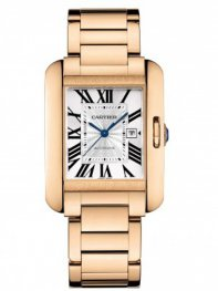 Cartier Tank Anglaise 18-Carat Rose Gold Watch W5310003