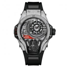 Hublot MP-09 Tourbillon Bi-Axis Titanium Pavé 909.NX.1120.RX.1704 Replica Watch